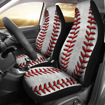 Baseball Design No3 Print Universal Fit Car Seat Covers