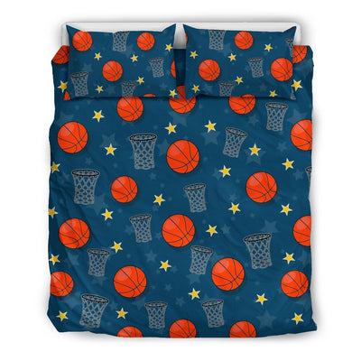 Basketball Classic Print Pattern Duvet Cover Bedding Set