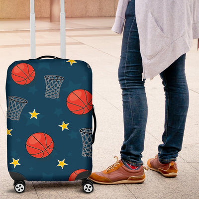 Basketball Classic Print Pattern Luggage Cover Protector