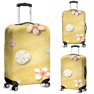 Beach Theme Print Luggage Cover Protector
