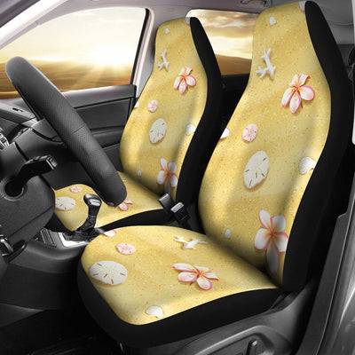Beach Theme Print Universal Fit Car Seat Covers