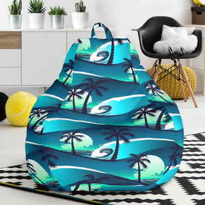 Amazing Beach Wave Design Print Bean Bag Chairs Jtamigo Com Alphanode Cool Chair Designs And Ideas Alphanodeonline