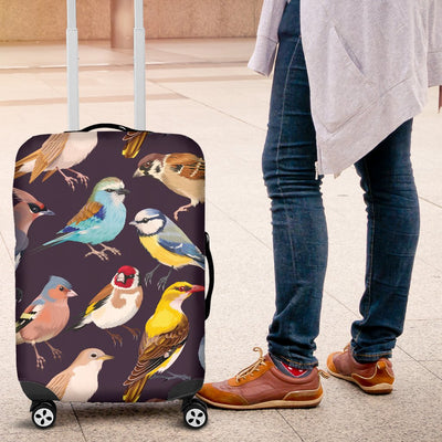 Bird Cute Print Pattern Luggage Cover Protector