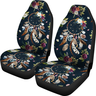Bohemian Dream Catcher Style Print Universal Fit Car Seat Covers