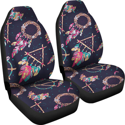 Boho Dream Catcher Colorful Universal Fit Car Seat Covers