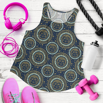 Boho Sun Dream Women Racerback Tank Top