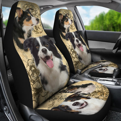 Border Collie Design No1 Print Universal Fit Car Seat Covers
