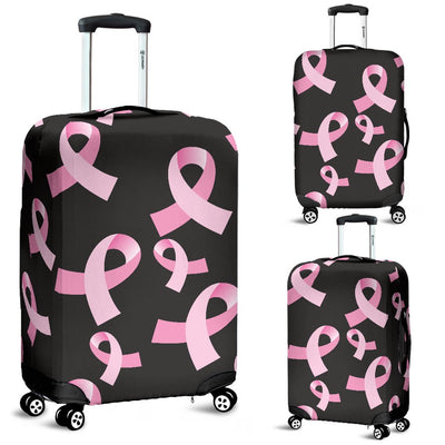 Breast Cancer Awareness Design Luggage Cover Protector