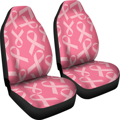 Breast Cancer Awareness Themed Universal Fit Car Seat Covers