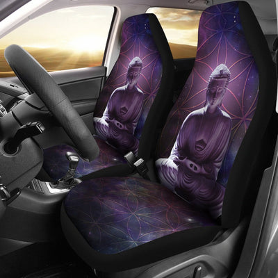Buddha Design No3 Print Universal Fit Car Seat Covers
