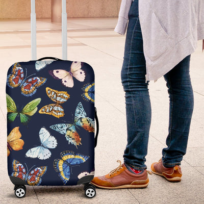 Butterfly Beautiful Print Pattern Luggage Cover Protector