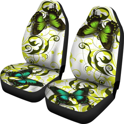 Butterfly Themed Design No1 Print Universal Fit Car Seat Covers