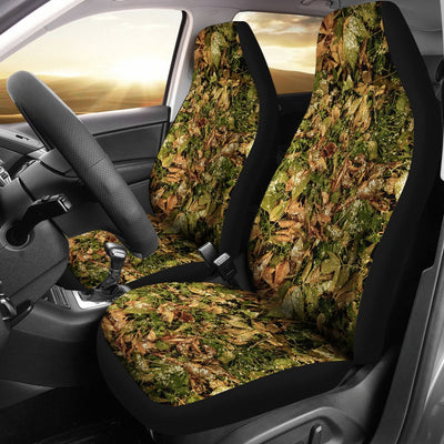 Camo Realistic Tree Forest Texture Print Universal Fit Car Seat Covers