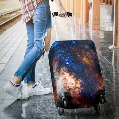 Celestial Milky Way Galaxy Luggage Cover Protector