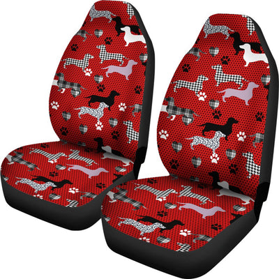 Dachshund Design No4 Print Universal Fit Car Seat Covers