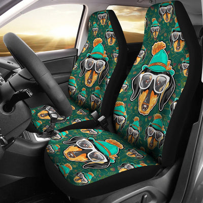 Dachshund Design No5 Print Universal Fit Car Seat Covers