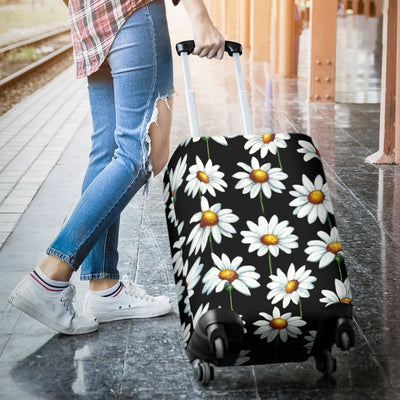 Daisy Print Pattern Luggage Cover Protector