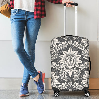 Damask Elegant Print Pattern Luggage Cover Protector