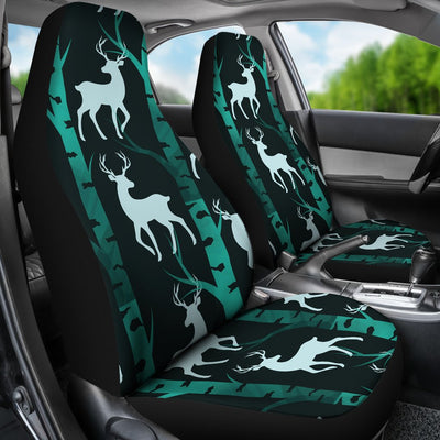 Deer Jungle Print Pattern Universal Fit Car Seat Covers