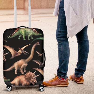 Dinosaur Print Pattern Luggage Cover Protector