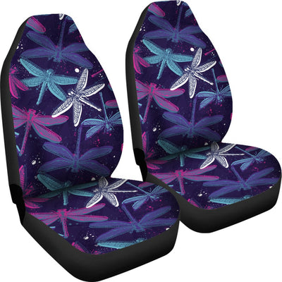 Dragonfly Design No2 Print Universal Fit Car Seat Covers