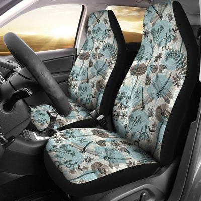 Dragonfly Design No4 Print Universal Fit Car Seat Covers