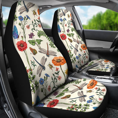 Dragonfly Design No6 Print Universal Fit Car Seat Covers