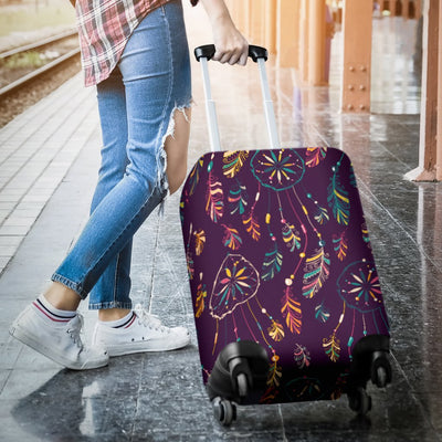 Dream Catcher Boho Design Luggage Cover Protector