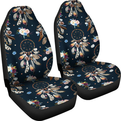 Dream Catcher Boho Floral Style Universal Fit Car Seat Covers