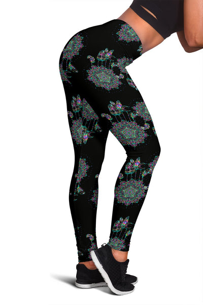 Dream Catcher Colorful Hand Draw Women Leggings