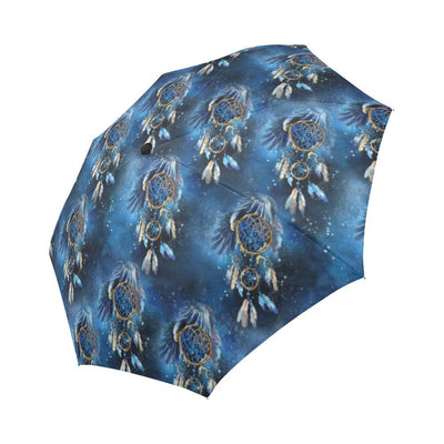 Eagles Dream Catcher Themed Automatic Foldable Umbrella