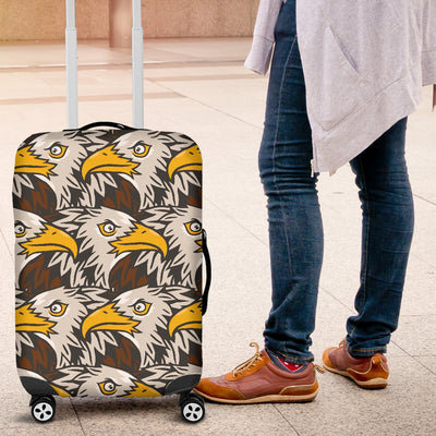 Eagles Head Pattern Luggage Cover Protector