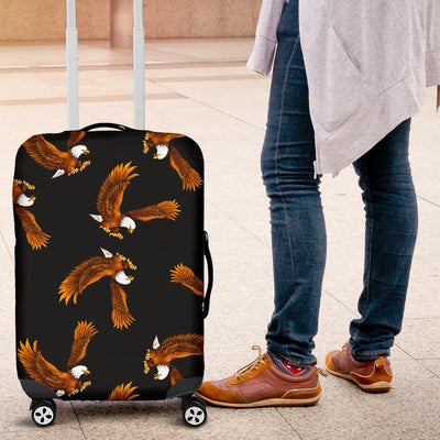 Eagles Print Pattern Luggage Cover Protector