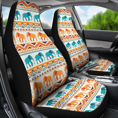 Elephant Aztec Ethnic Print Pattern Universal Fit Car Seat Covers