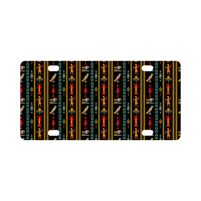 Eye of Horus Egypt Style Pattern Classic License Plate-JTAMIGO.COM
