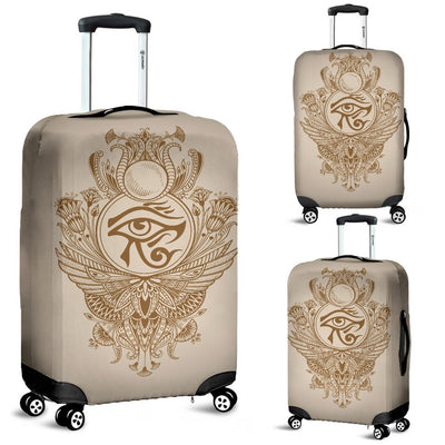 Eye Of Horus Mandala Style Luggage Cover Protector