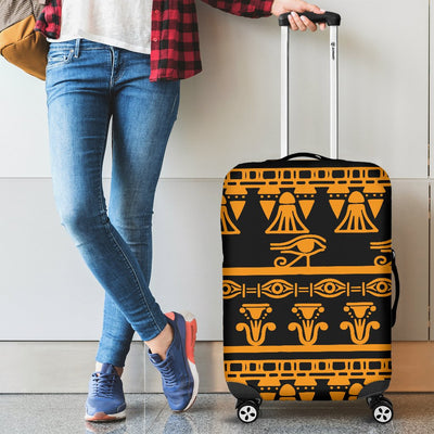 Eye Of Horus Tribal Egypt Pattern Luggage Cover Protector