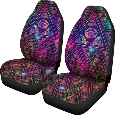 Eye of Providence Design No1 Print Universal Fit Car Seat Covers