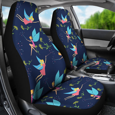Fairy with flower Print Pattern Universal Fit Car Seat Covers