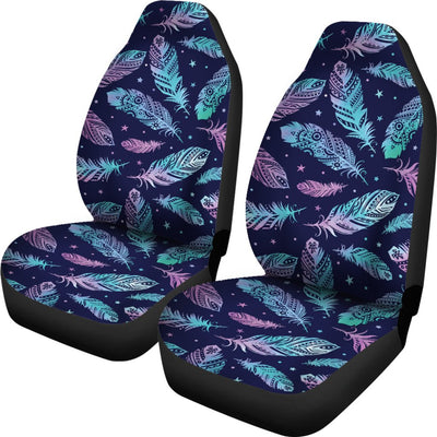 Feather Aztec Design Print Universal Fit Car Seat Covers