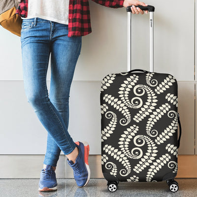 Fern Leave Print Pattern Luggage Cover Protector