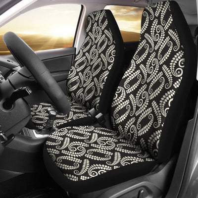 Fern Leave Print Pattern Universal Fit Car Seat Covers