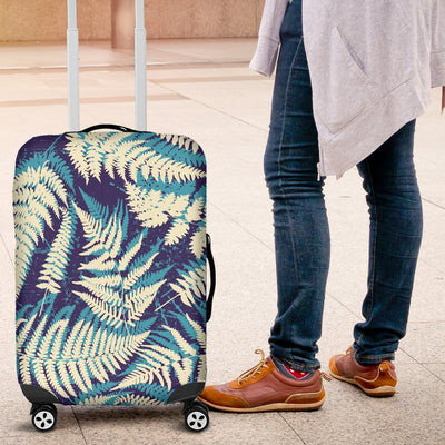 Fern Leave Summer Print Pattern Luggage Cover Protector