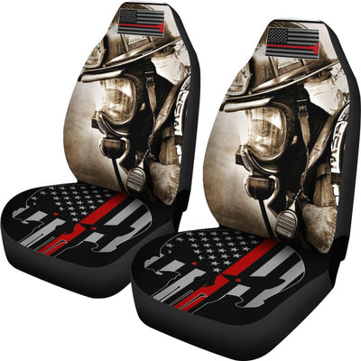 Firefighter Hero Design No1 Print Universal Fit Car Seat Covers