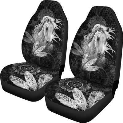 Free Spirit Horse Design No3 Print Universal Fit Car Seat Covers