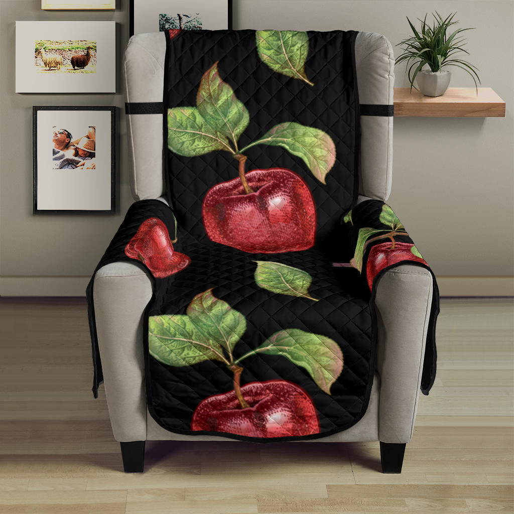 Apple Pattern Print Design AP011 Armchair Cover Protector