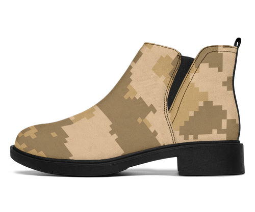 ACU Digital Desert Camouflage Ankle Boots
