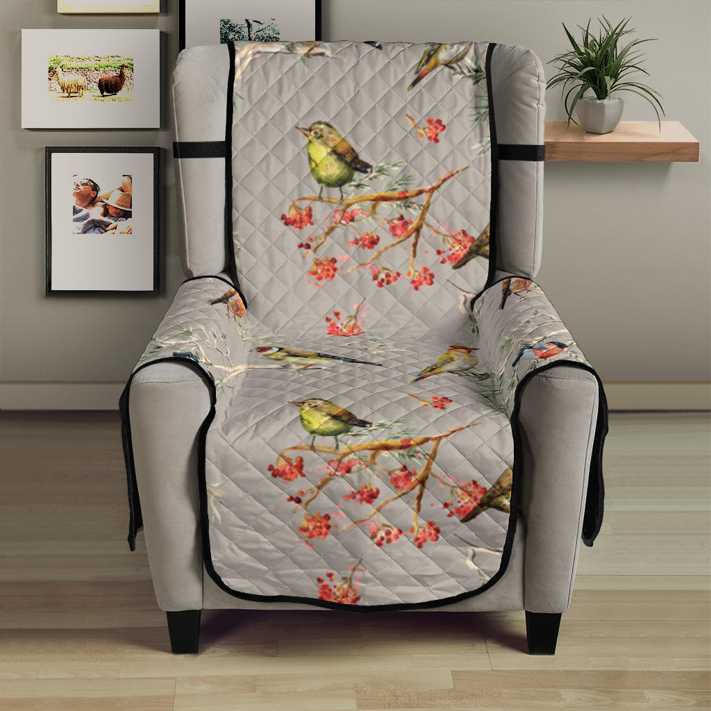 Birds Pattern Print Design 03 Armchair Cover Protector