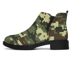 ACU Digital Army Camouflage Ankle Boots