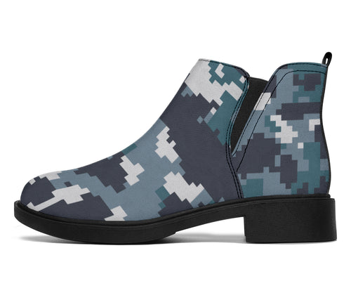 ACU Digital Urban Camouflage Ankle Boots